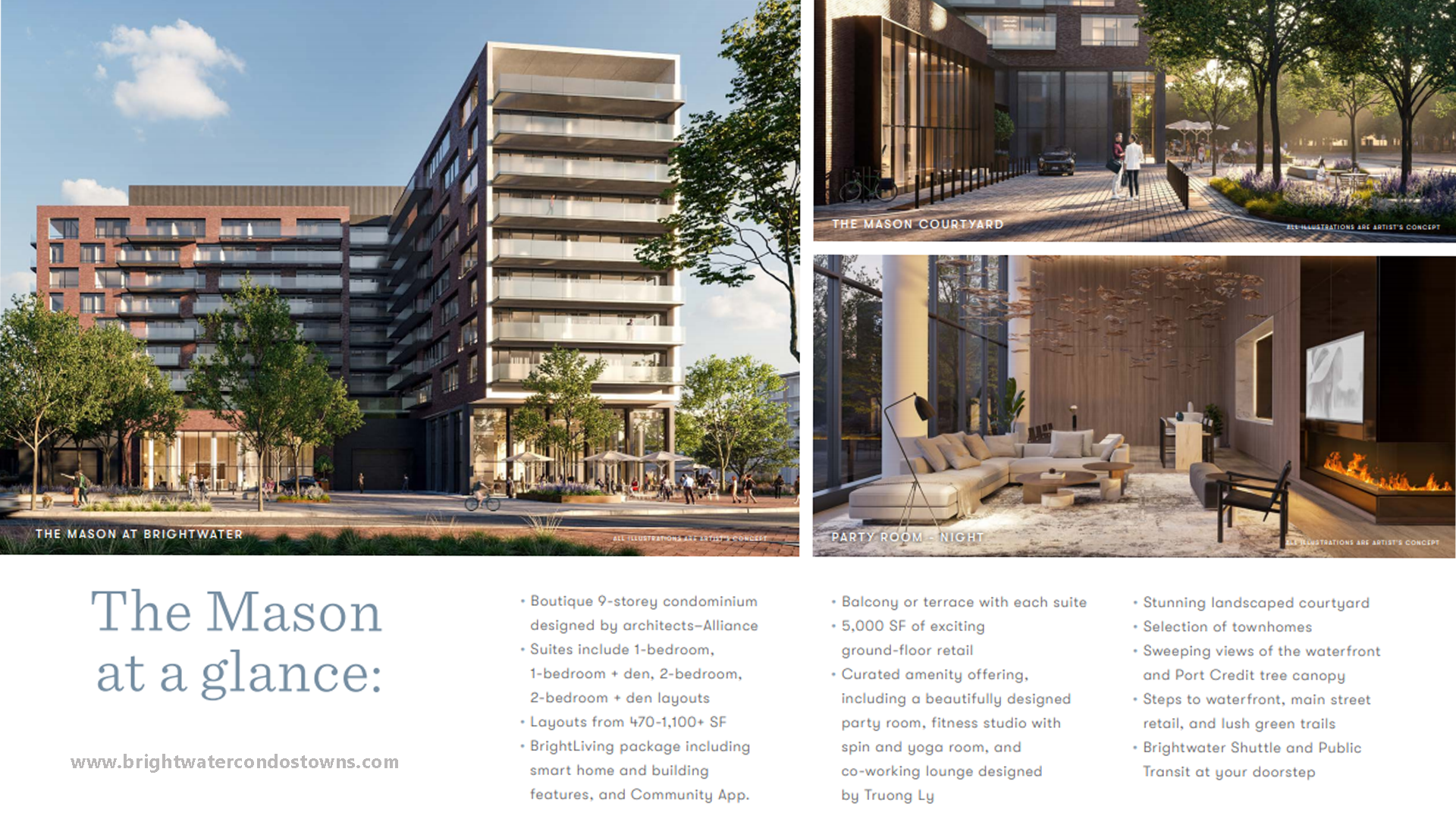 The Mason at a glance rendering ii