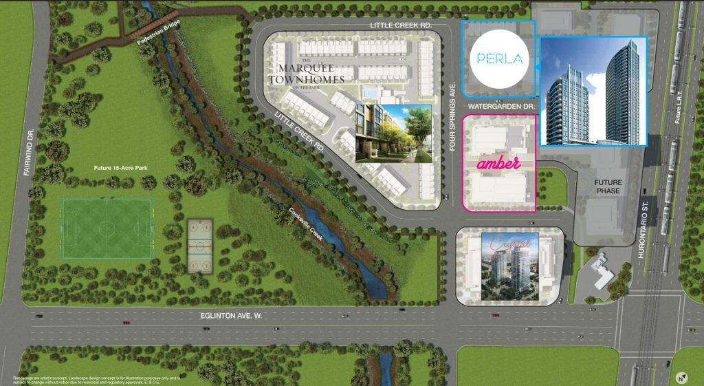 perla-pinnacle-uptown-masterplan-sitemap
