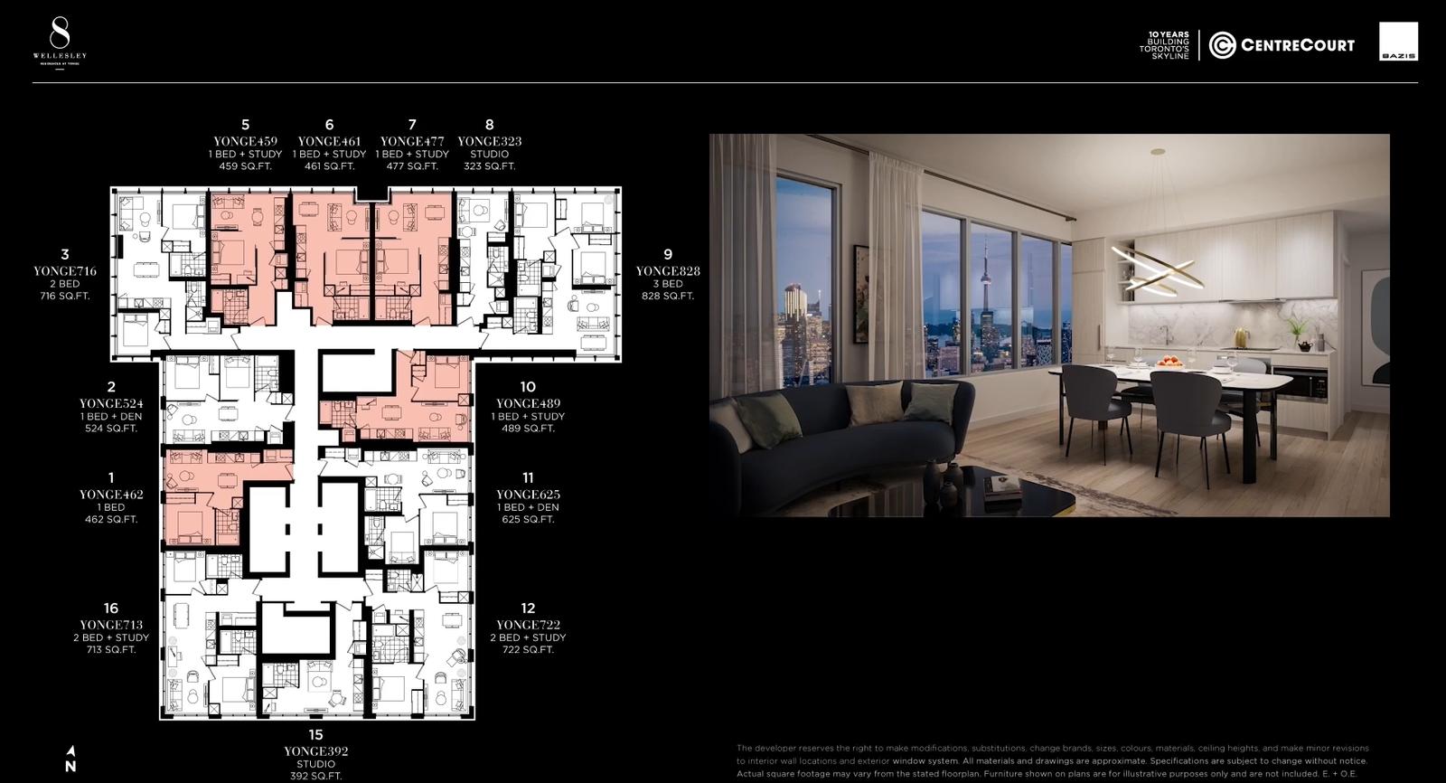 1-Bed Suite (2)