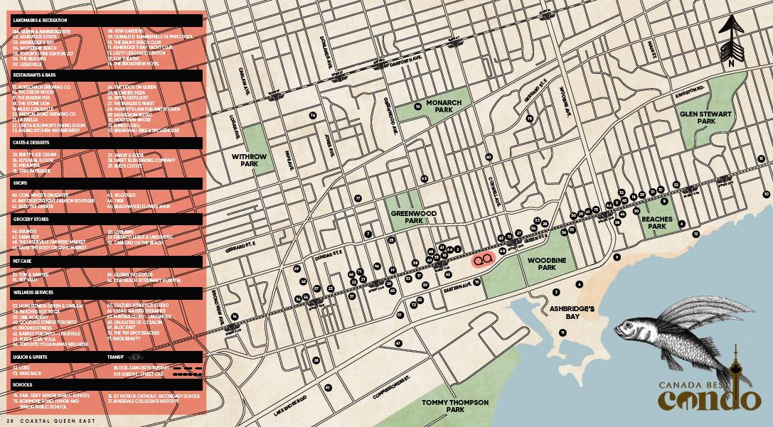 QA Map