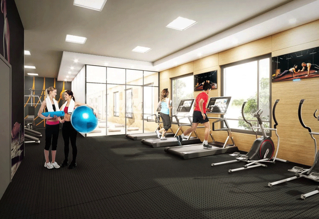 Nahid-on-Kennedy-Fitness-Centre-with-Treadmill-and-Yoga-Space