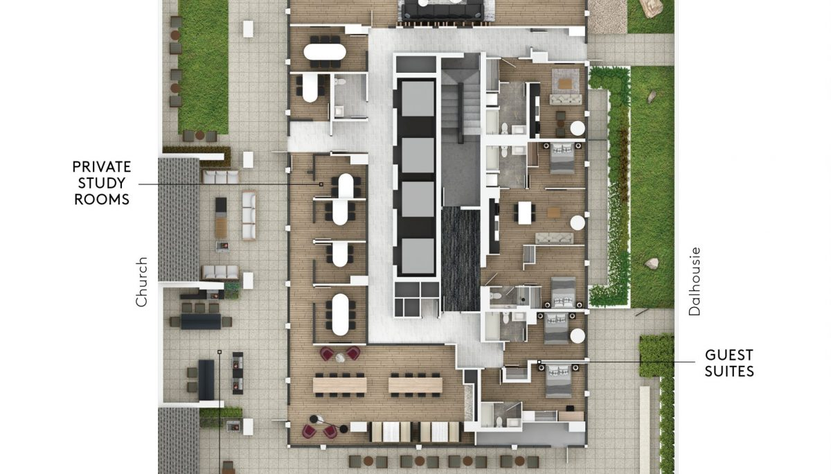 199 Church - Level 5 Amenity Flat Plan