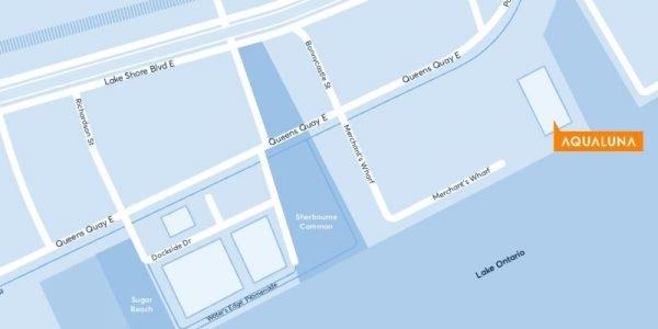 Aqualuna-condo-Map